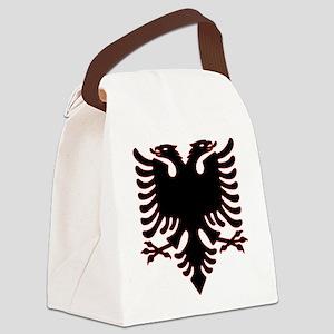 Albanian Eagle Canvas Lunch Bag