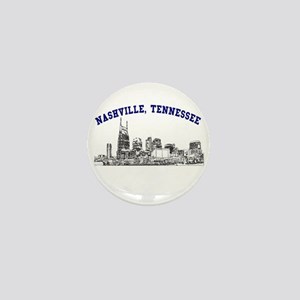 Nashville, Tennessee Mini Button