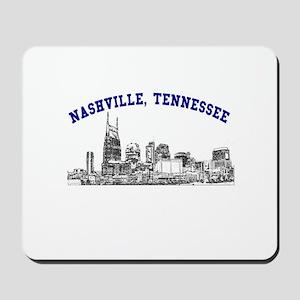 Nashville, Tennessee Mousepad