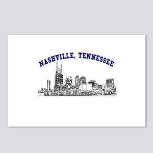 Nashville, Tennessee Postcards (Package of 8)