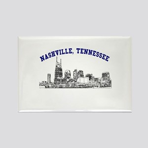 Nashville, Tennessee Rectangle Magnet