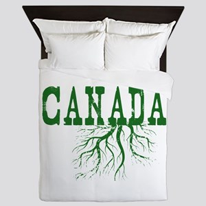 Canada Roots Queen Duvet