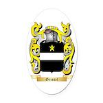 Grissel Oval Car Magnet