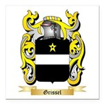 Grissel Square Car Magnet 3