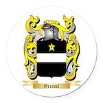Grissel Round Car Magnet