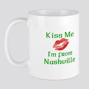 Kiss Me I'm from Nashville Mug