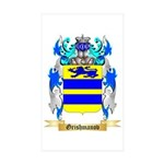 Grishmanov Sticker (Rectangle 50 pk)