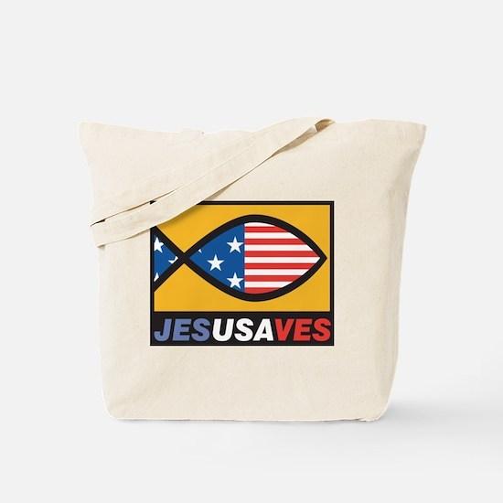 JESUSAVES Tote Bag