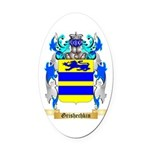 Grishechkin Oval Car Magnet