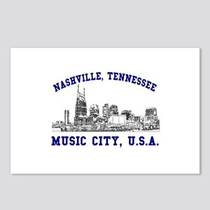 Nashville . . . Music City US Postcards (Package o