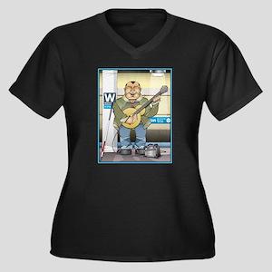 Blue Line Harmony Plus Size T-Shirt