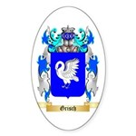 Grisch Sticker (Oval 10 pk)