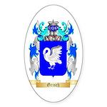 Grisch Sticker (Oval 50 pk)