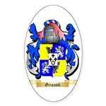 Grisanti Sticker (Oval 10 pk)