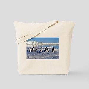 Penguin Place Tote Bag