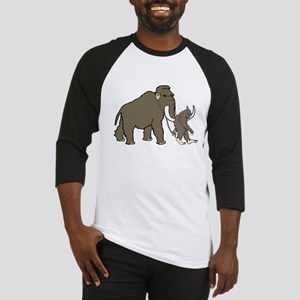 Woolly Mammoth And Bigfoot Baseball Jersey
