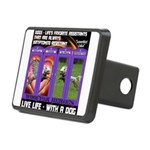 LoverGirl LuLu Live Life With A Dog Hitch Cover