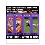 LoverGirl LuLu Live Life With A Dog Posters