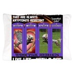 LoverGirl LuLu Live Life With A Dog Pillow Case