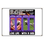 LoverGirl LuLu Live Life With A Dog Banner