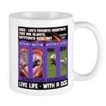 LoverGirl LuLu Live Life With A Dog Mugs