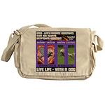 LoverGirl LuLu Live Life With A Dog Messenger Bag