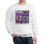 LoverGirl LuLu Live Life With A Dog Sweatshirt