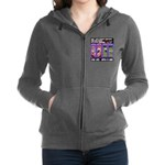 LoverGirl LuLu Live Life With A Dog Women's Zip Ho