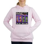 LoverGirl LuLu Live Life With A Dog Women's Hooded
