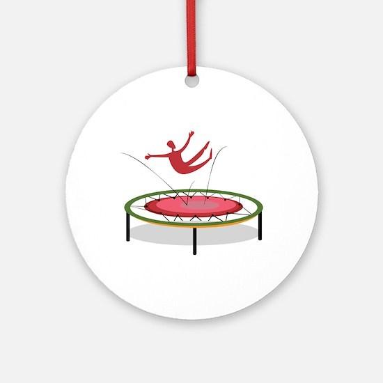 Trampoline Ornament (Round)