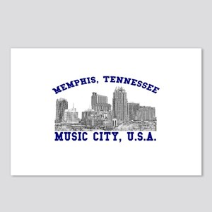 Memphis, Tennessee . . . Musi Postcards (Package o