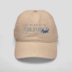 Proud Air Force Aunt (Blue) Cap