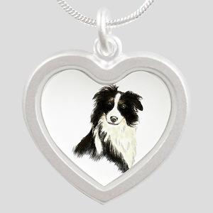 Watercolor Border Collie Dog Pet Animal Necklaces