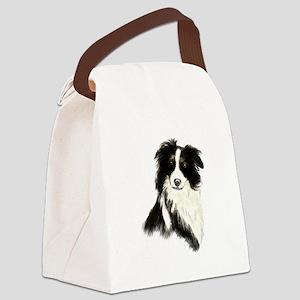 Watercolor Border Collie Dog Pet Animal Canvas Lun