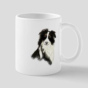 Watercolor Border Collie Dog Pet Animal Mugs
