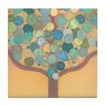 BABYLONIA-AZUL Tile Coaster