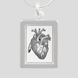 Anatomical Heart - Black Necklaces