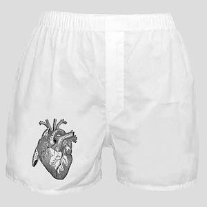 Anatomical Heart - Black Boxer Shorts