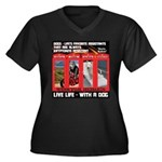 Hectic Hudson - Live Life With A Dog Plus Size T-S