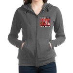 Hectic Hudson - Live Life With A Dog Women's Zip H