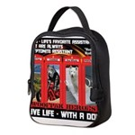 Hectic Hudson - Live Life With A Dog Neoprene Lunc
