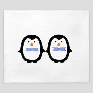 Teo Male Penguins King Duvet