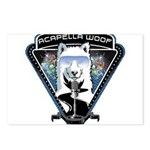 Acapella WOOF Postcards (Package of 8)