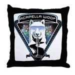 Acapella WOOF Throw Pillow