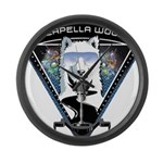 Acapella WOOF Large Wall Clock