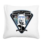 Acapella WOOF Square Canvas Pillow