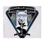 Acapella WOOF Throw Blanket