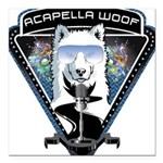 Acapella WOOF Square Car Magnet 3