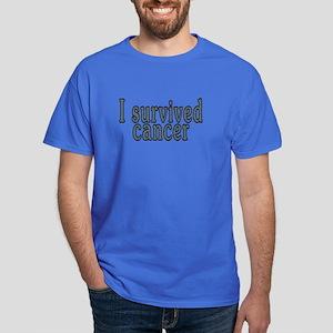 I survived cancer - Dark T-Shirt