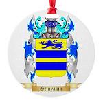 Grinyakin Round Ornament
